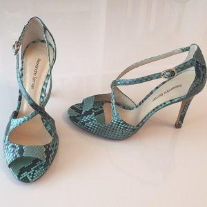 Alexandre Birman Python Heels